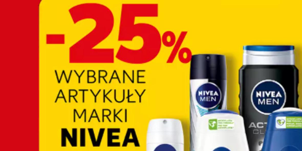 Kaufland: -25% na wybrane artykuły marki Nivea 21.10.2021
