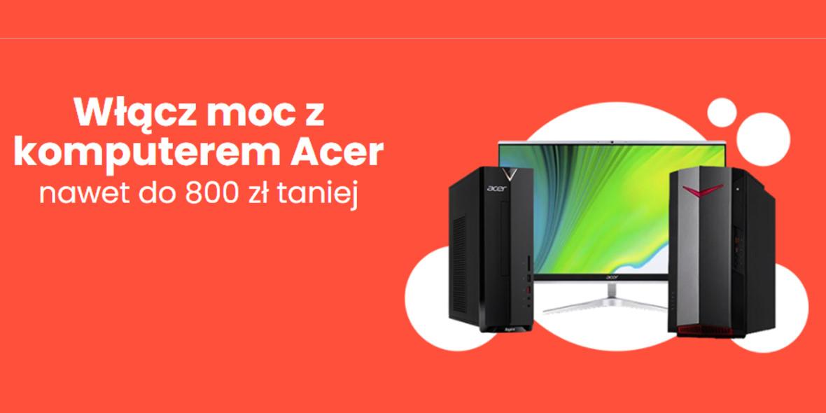 morele.net: Do -800 zł za komputery Acer 23.07.2021