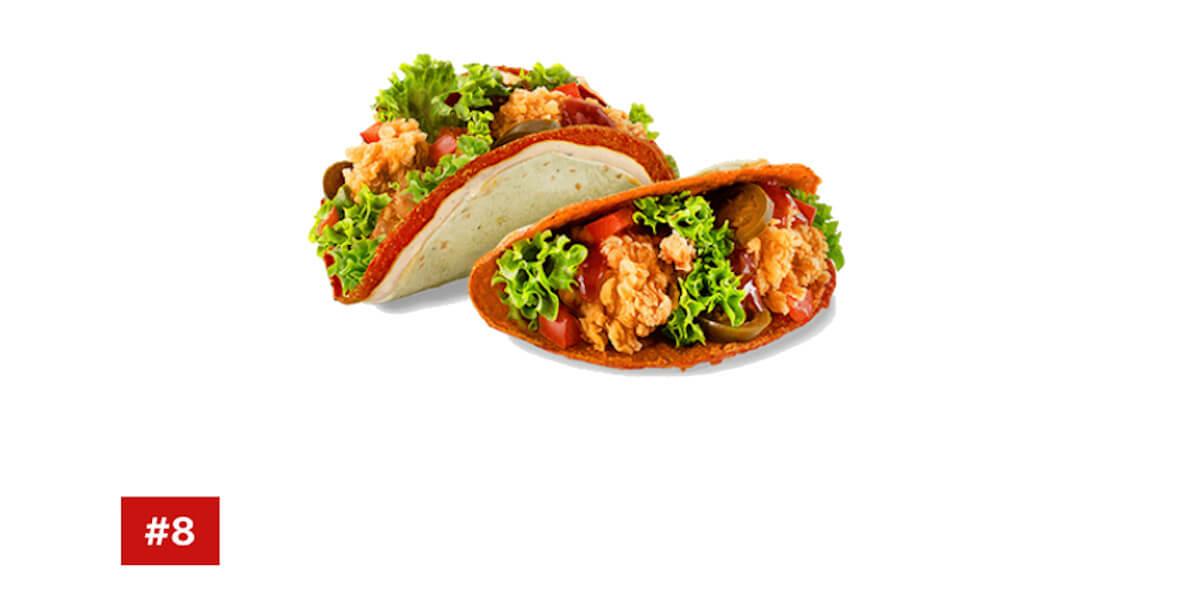 za 2 x Taco Hot