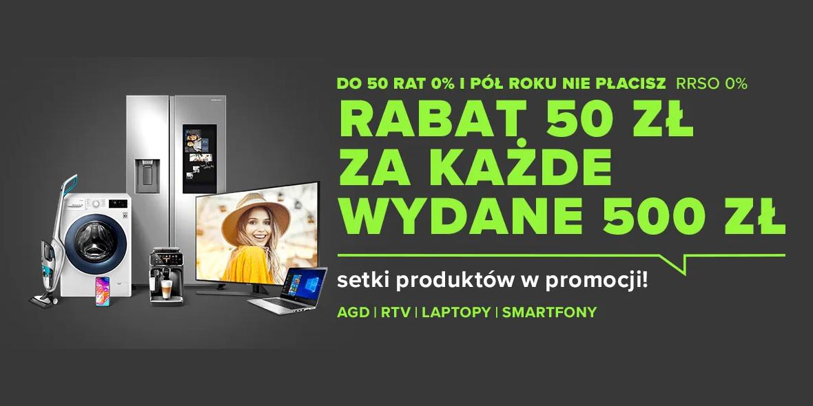 Neonet: -50 zł za każde wydane 500 zł 06.05.2021