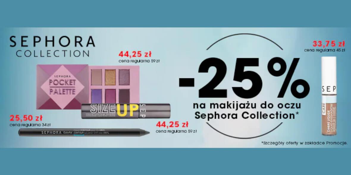 Sephora: -25% na produkty do makijażu oczu Sephora Collection 02.09.2021