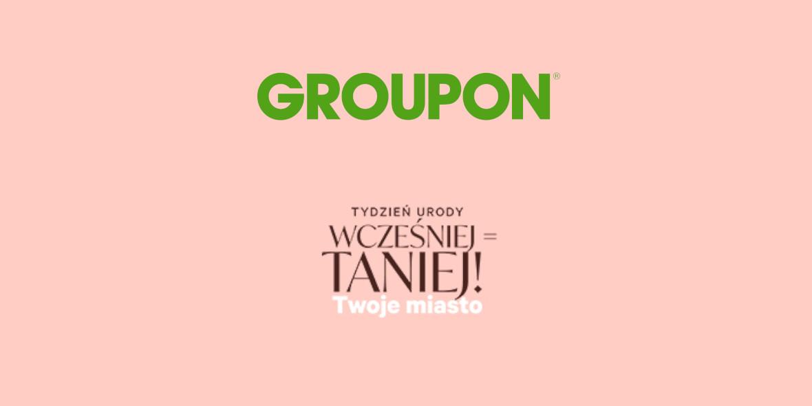 Groupon.pl: Kod: do 30% na wybrane oferty 18.09.2021