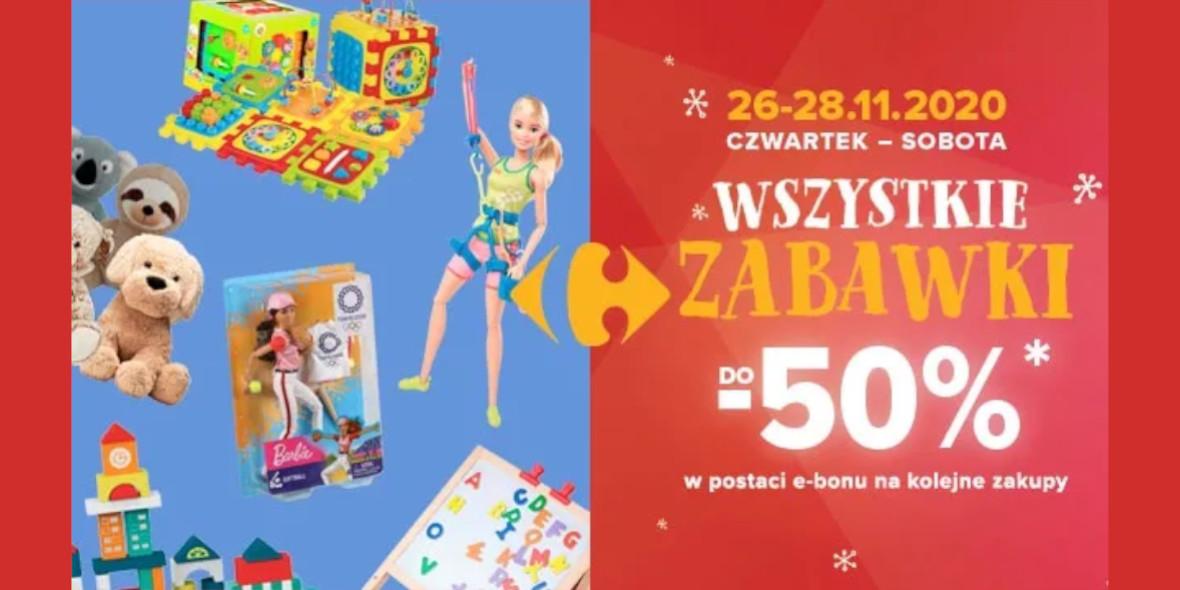 Carrefour: Nawet 200 zł w bonie na kolejne zakupy 26.11.2020