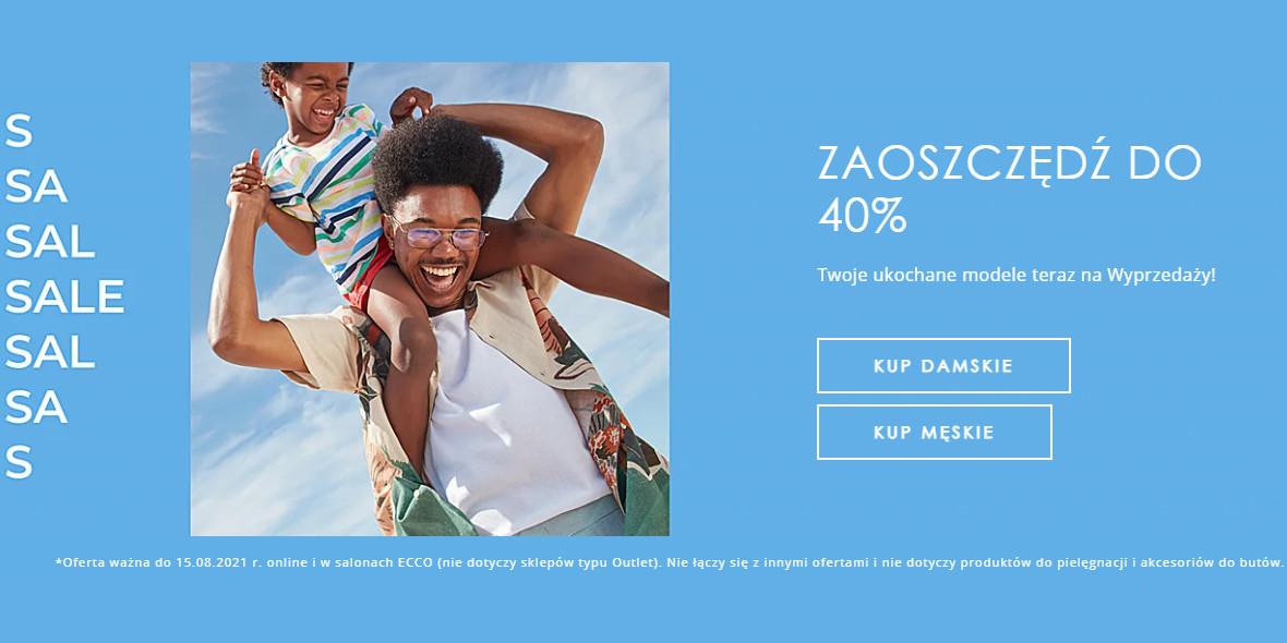 Ecco: Do -40% na Twoje ukochane modele