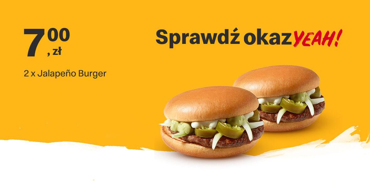 za 2 x Jalapeno Burger