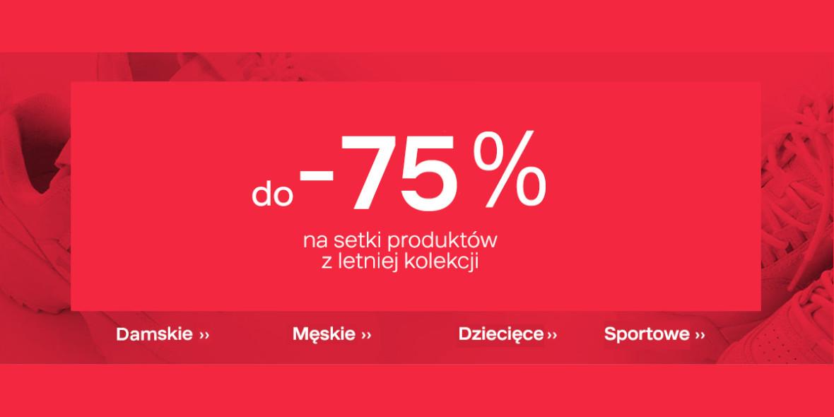 Deichmann: Do -75% na setki produktów 19.08.2020
