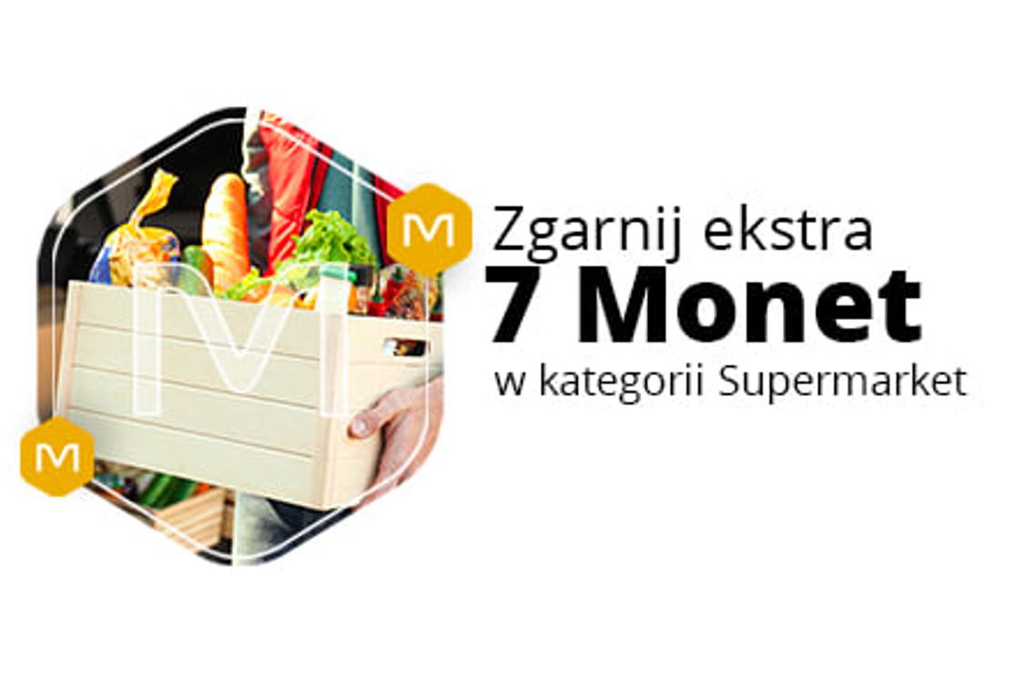 Allegro.pl: +7 Monet przy zakupie 2 produktów z działu Supermarket