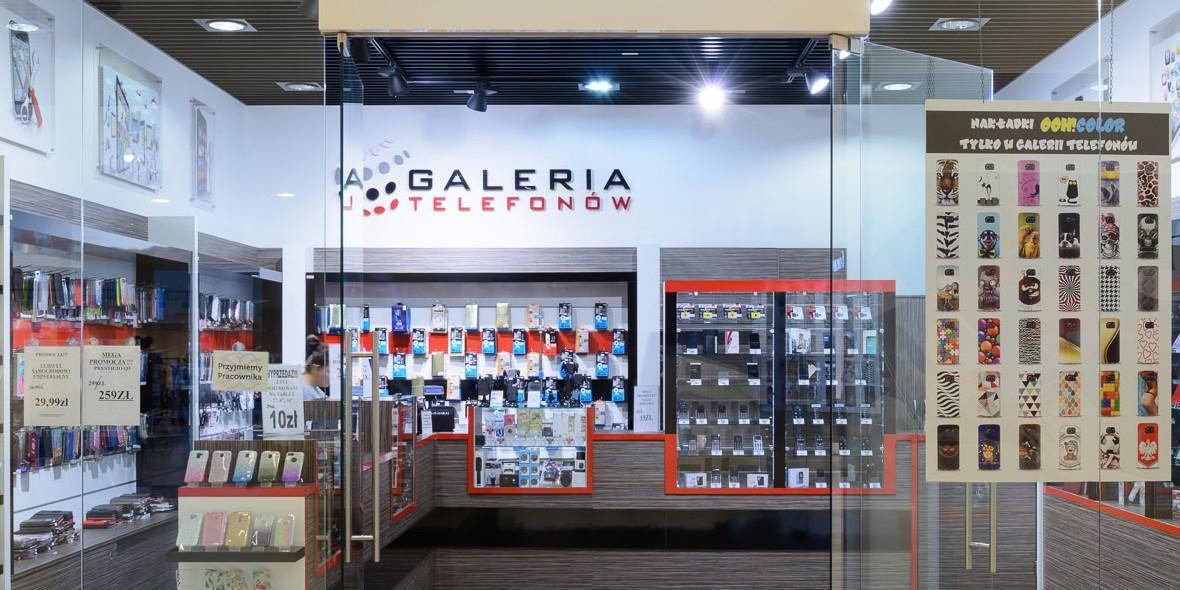 Galeria Telefonów: -50% na szkło hartowane
