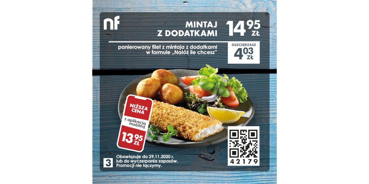 North Fish: 14,95 zł Mintaj z dodatkami 07.09.2020