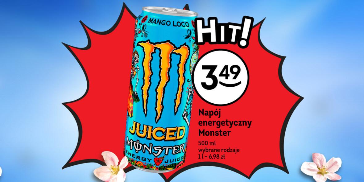 za napój Monster