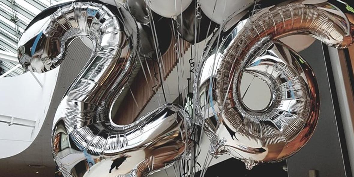za balony cyfry i litery