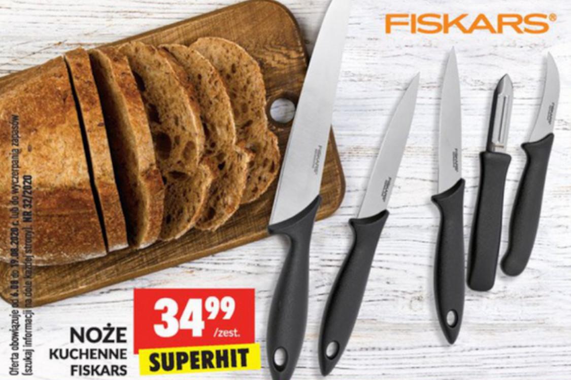 34,99 zł za noże Fiskars