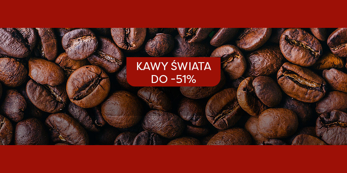 Allegro: Do -51% na kawy świata 02.08.2021