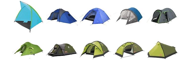 Do -50%  na namiot