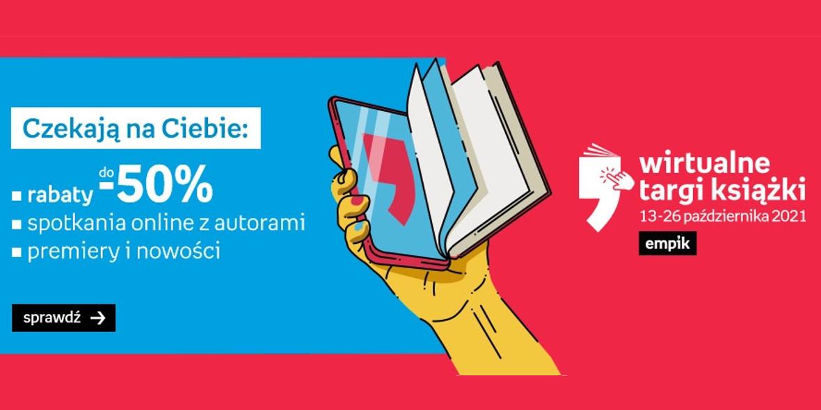 Empik: Do -50% na książki i audiobooki 13.10.2021