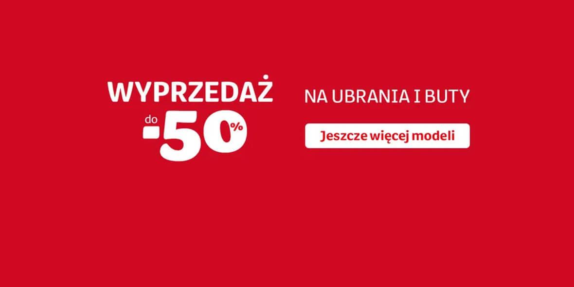 Smyk: Do -50% na kategorię: Ubrania i Buty 04.01.2021