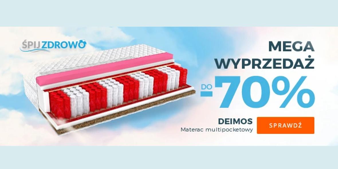 Allegro.pl:  Do -70% na materace 09.05.2021