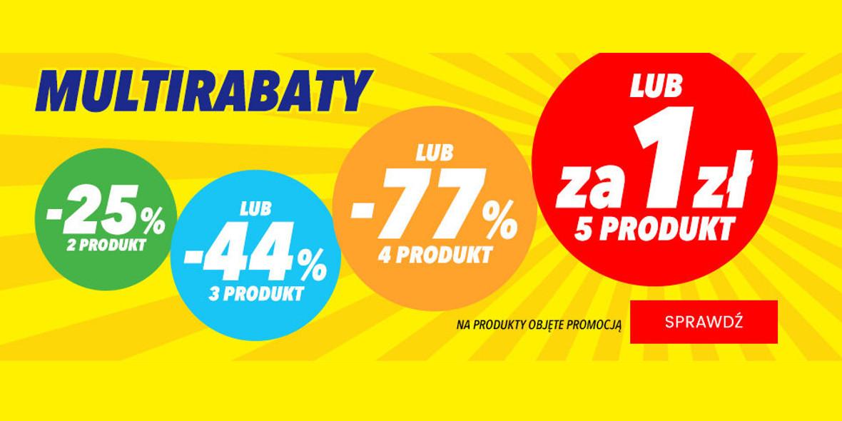 Media Expert: Do -77% lub piąty produkt za 1 zł 07.09.2021