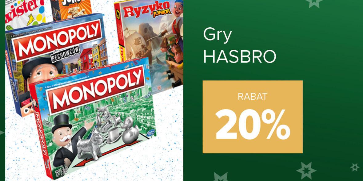 Carrefour: -20% na gry Hasbro 01.12.2020