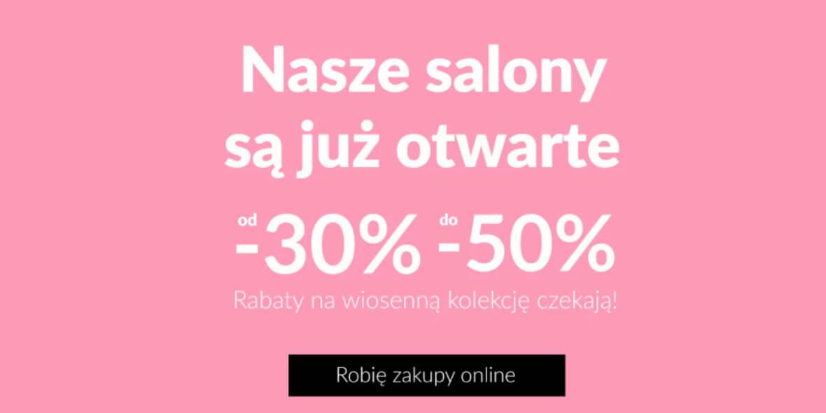 Quiosque:  Do -50% na wiosenną kolekcję w Quisque 01.01.0001