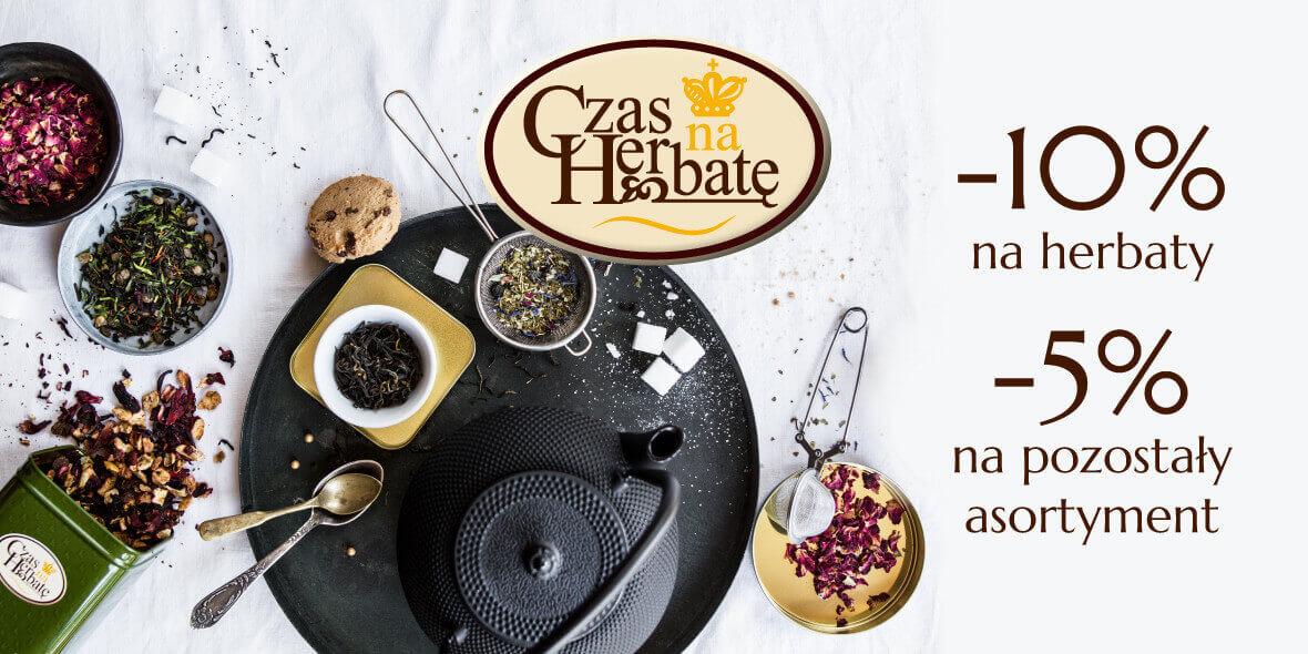 Czas na Herbatę: Do -10% na wybrane produkty w Galerii Wisła 11.03.2019