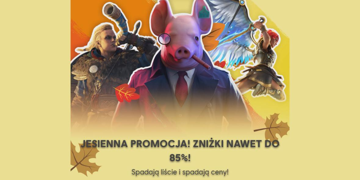 Ubisoft: Do -85% na wybrane gry