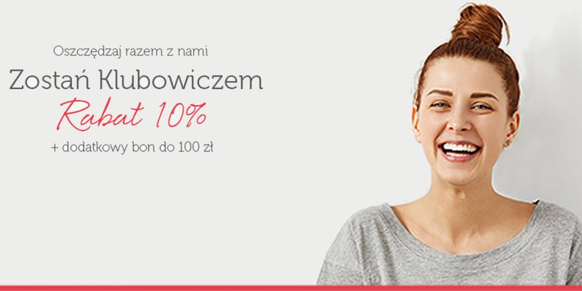 dla klubowiczów + dodatkowy bon do 100 zł
