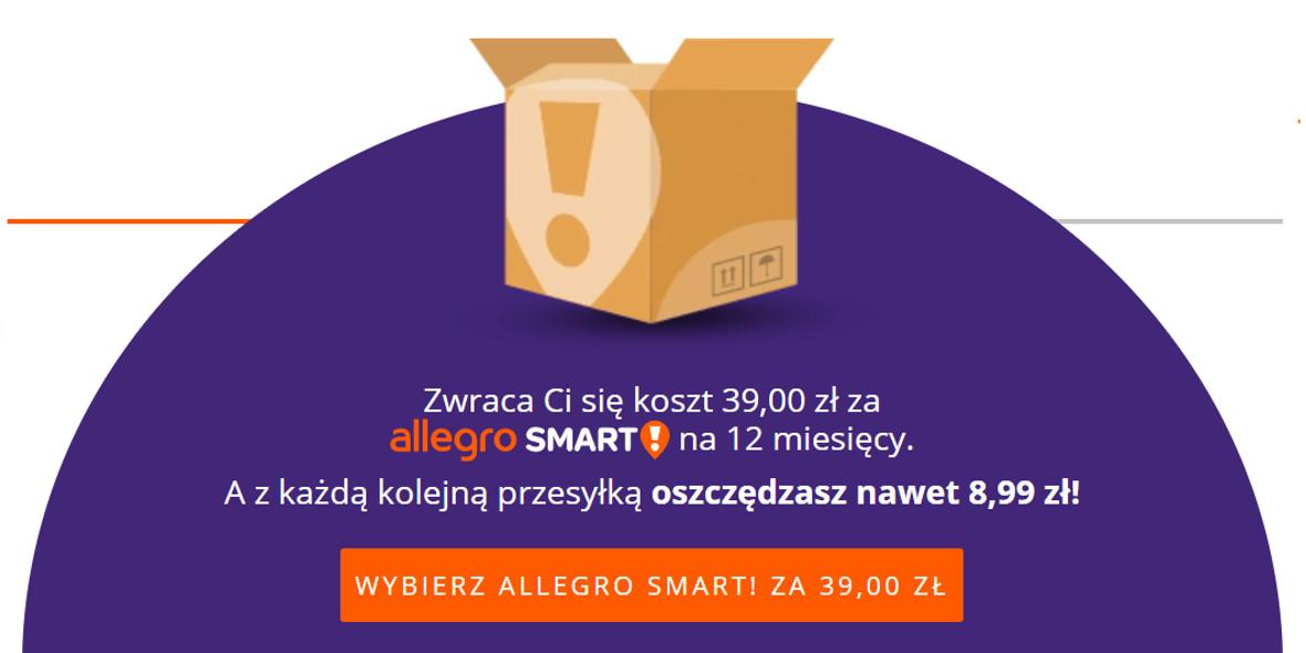 Allegro.pl: -10 zł za Allegro Smart 24.11.2020
