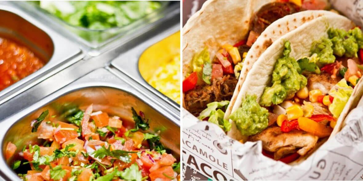 TACAMOLE – mexican grill: -10% na wszystkie potrawy