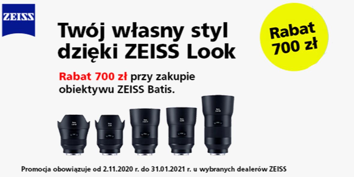 FotoForma: -700 zł przy zakupie obiektywu ZEISS Batis 01.01.0001