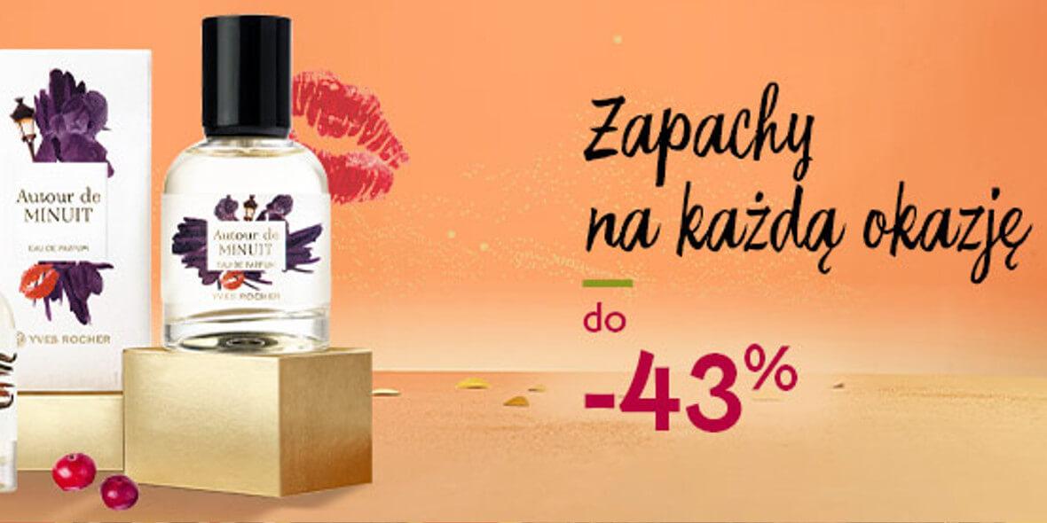Yves Rocher: Do -43% na zapachy 02.11.2020