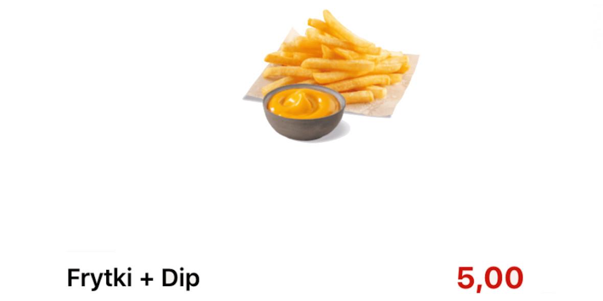 KFC: 5 zł za Frytki + Dip 17.09.2020