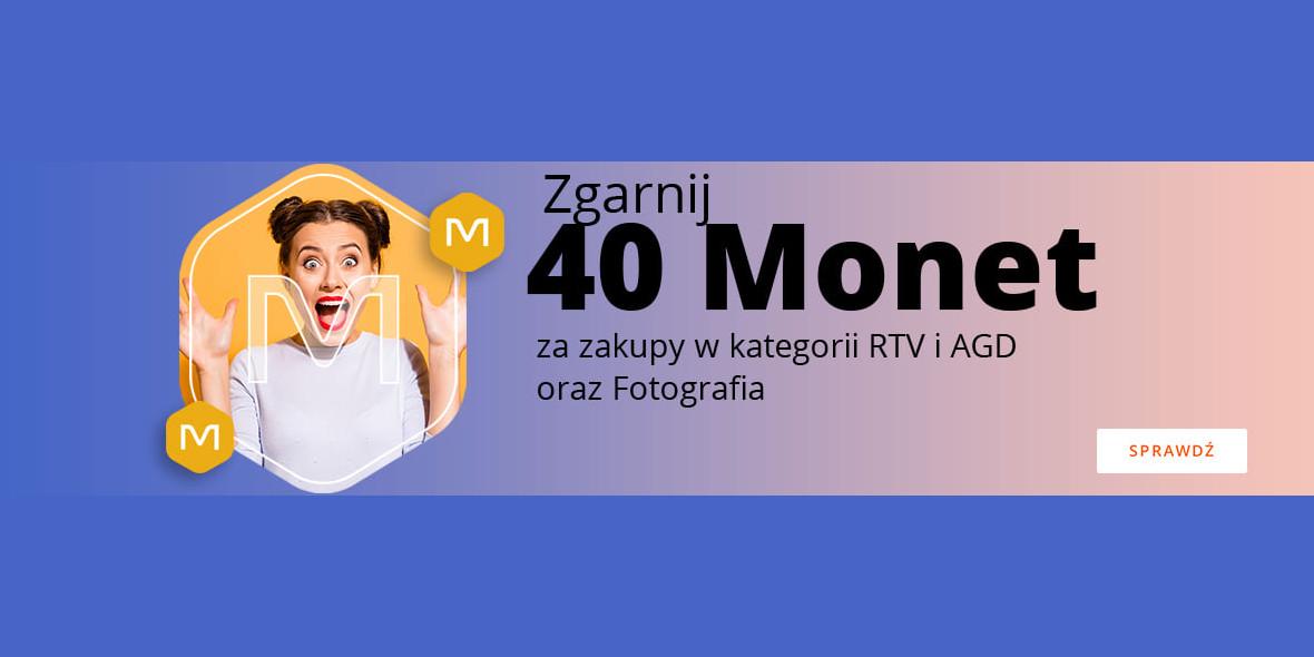 Allegro: +40 Monet za zakupy w kategorii RTV i AGD oraz Fotografia 15.06.2021