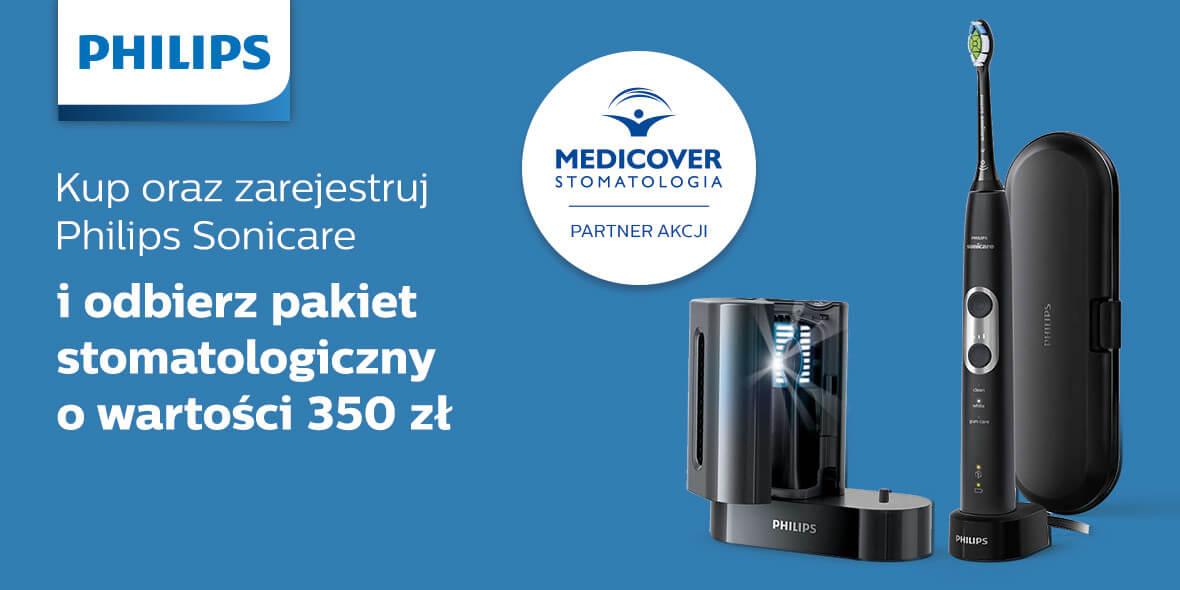 pakiet stomatologiczny o wartości 350 zł