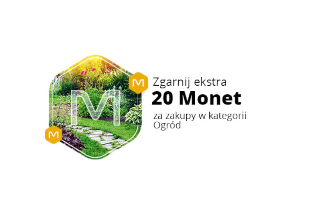 Allegro.pl: +20 Monet +20 Monet za zakupy w kategorii Ogród 19.04.2021