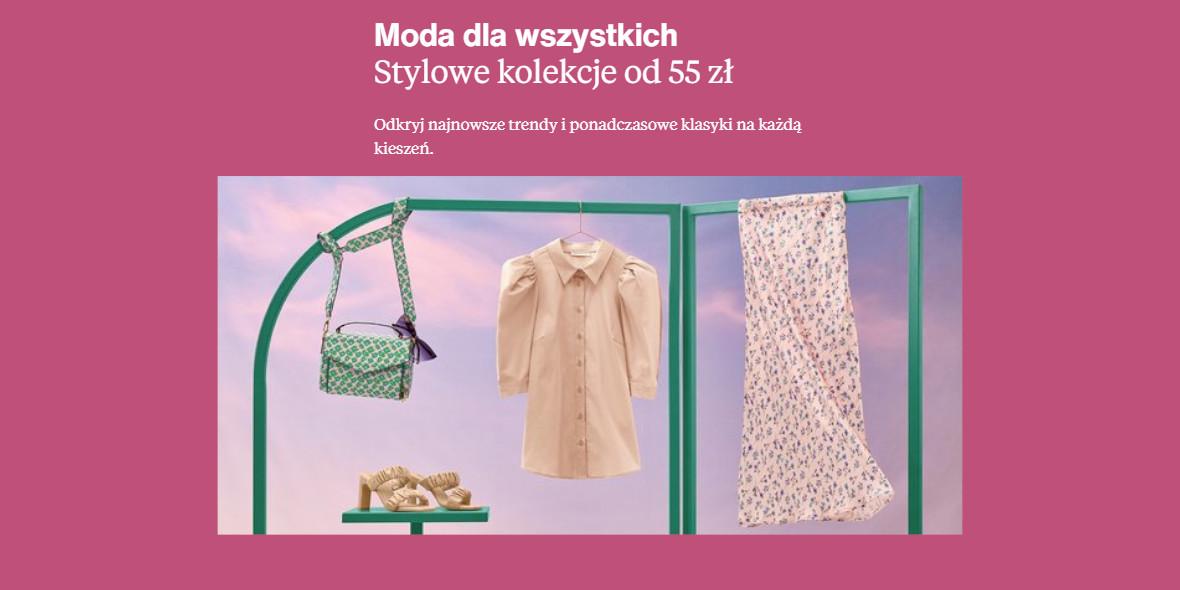 Zalando: Od 50 zł za ubrania z wybranych kolekcji 15.06.2021