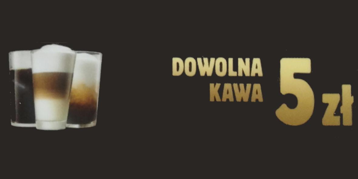 za dużą kawę