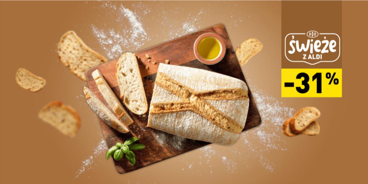 Aldi: -31% na chleb typu włoskiego 23.11.2020
