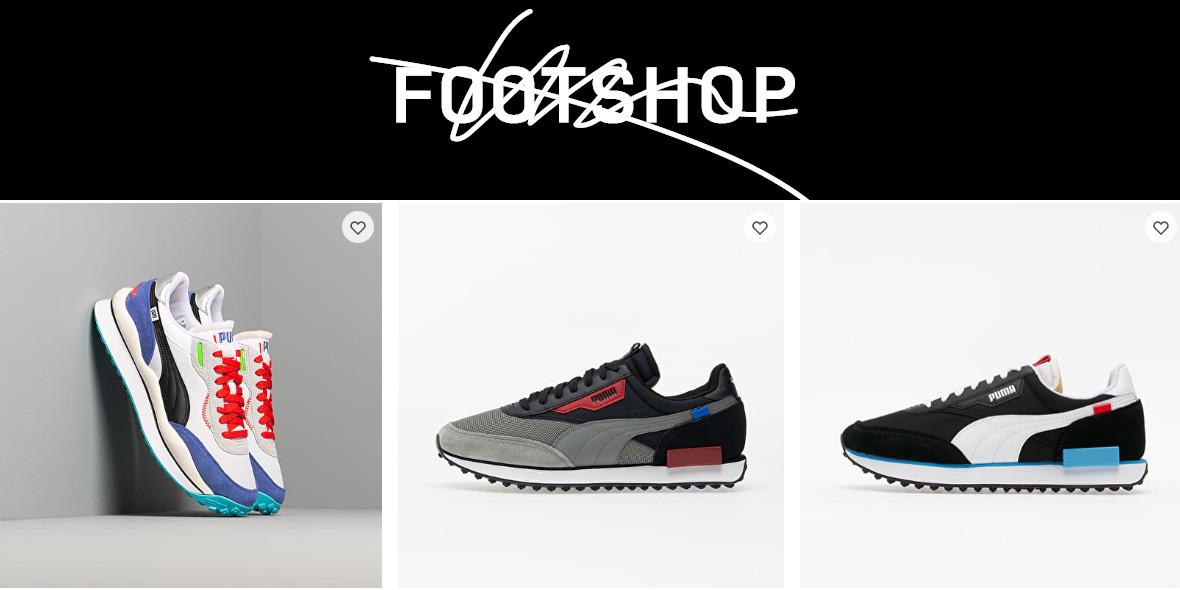 Footshop.pl: Kod: -20% na wybrane buty Puma 29.03.2021