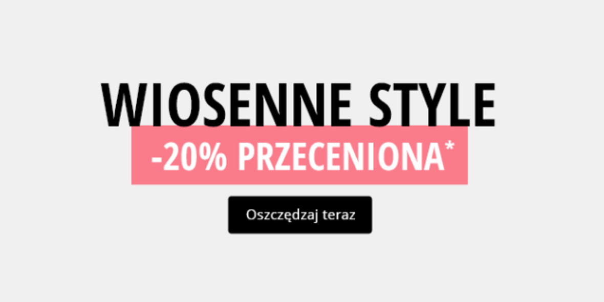 Ulla Popken: -20% na wiosenne style 05.03.2021