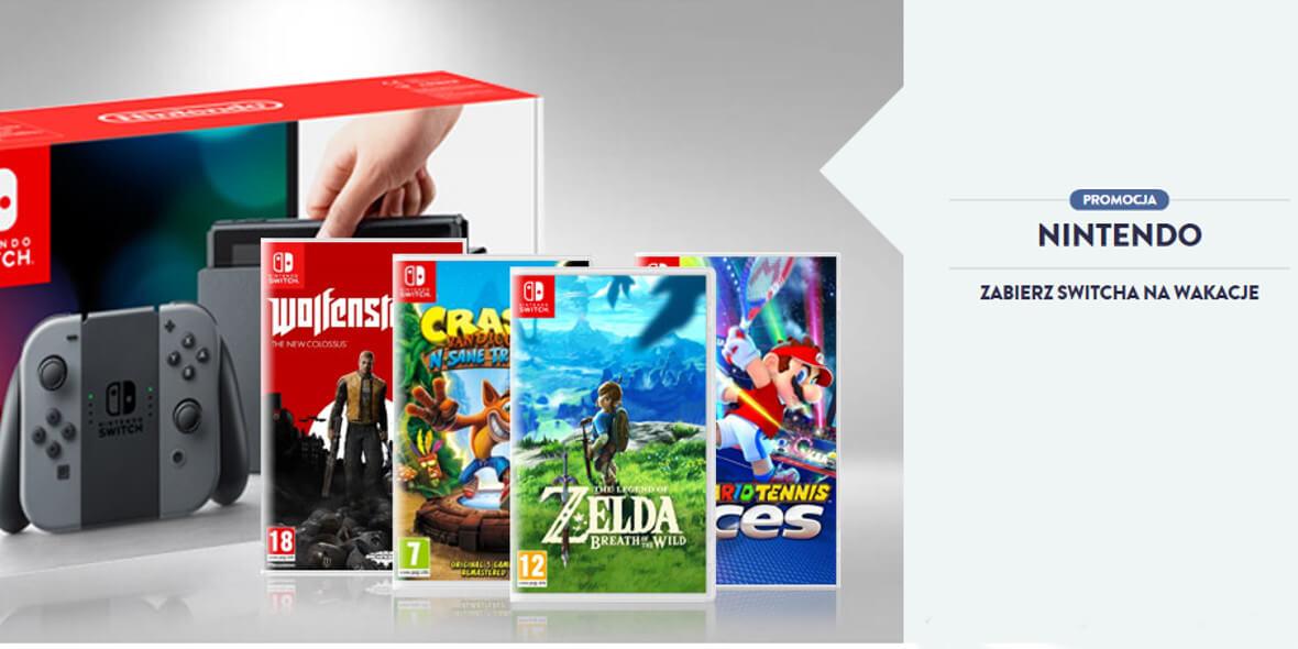 za Nintendo Switch oraz gry i akcesoria