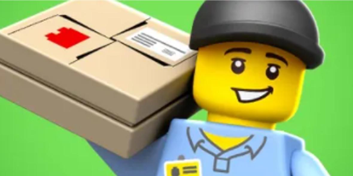 LEGO: Bezpłatna dostawa