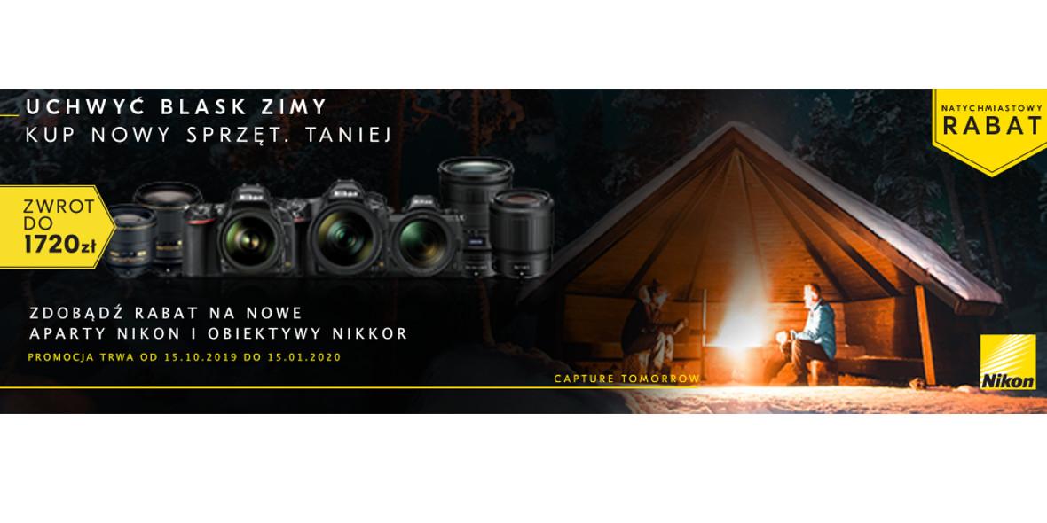 na nowe aparaty NIKON i obiektywy NIKKOR