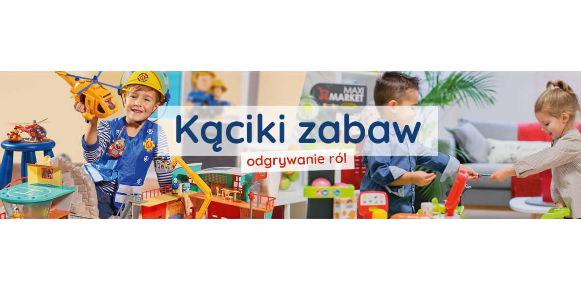 Kąciki zabaw dla dzieci