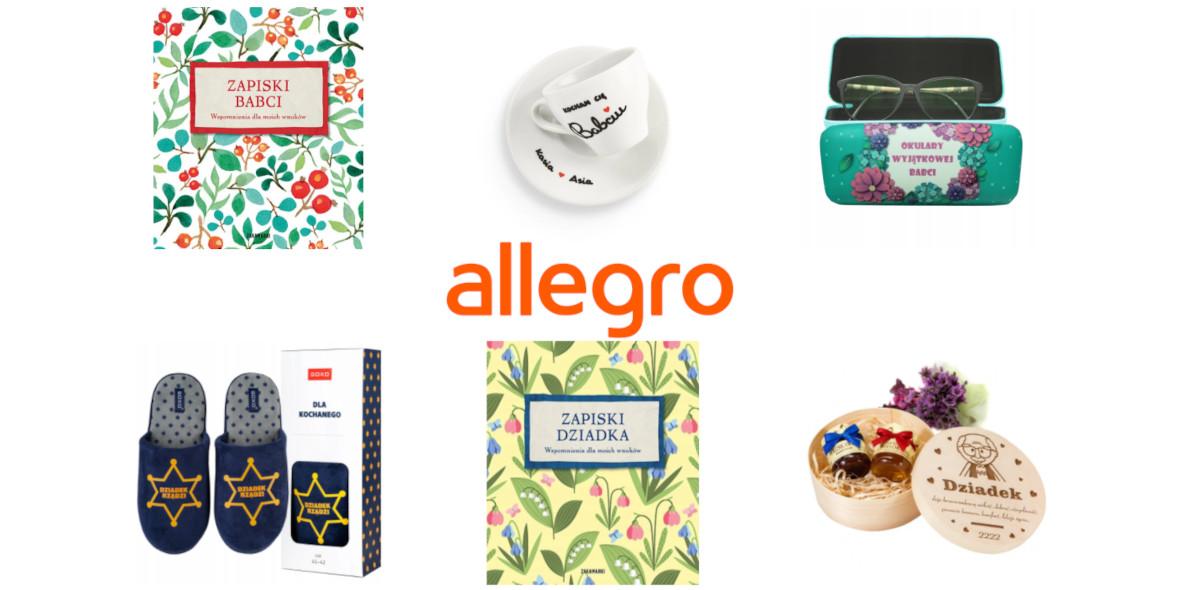 Allegro.pl:  Dzień Babci i Dziadka na Allegro 13.01.2021