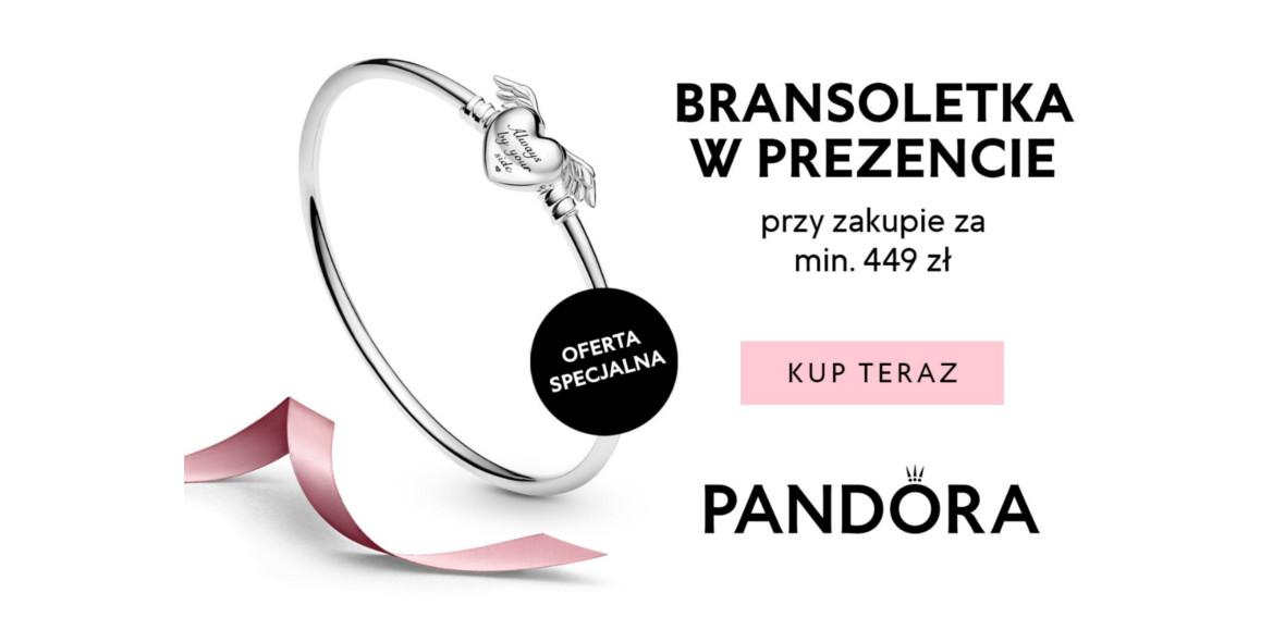 Pandora: Prezent bransoletka Pandora 10.05.2021