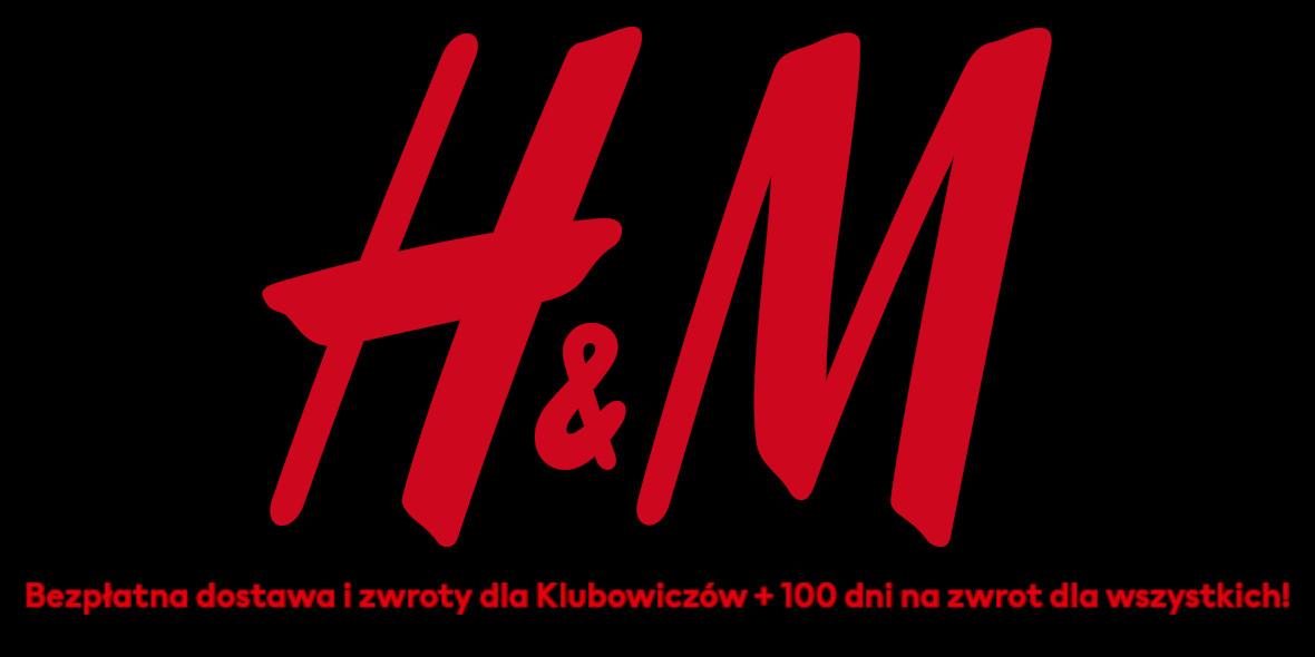 H&M: Darmowa dostawa i 100 dni na zwrot