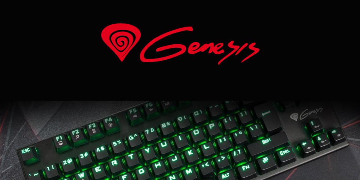 Genesis: Od 49 zł za klawiatury od Genesis