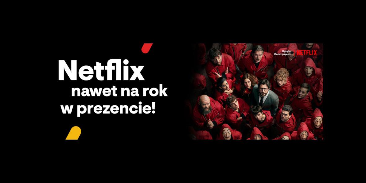 Vectra: Netflix nawet na rok w prezencie