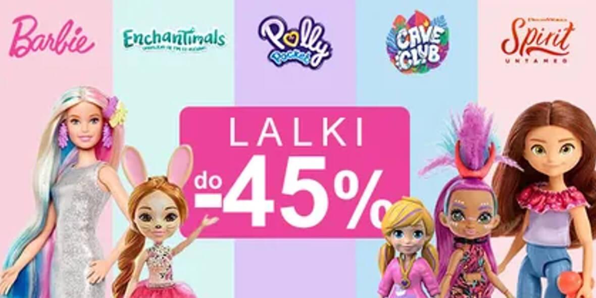 Smyk: Do -45% na lalki 04.05.2021